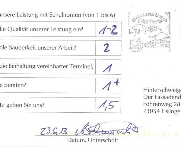 Erfahrungsbericht Fassadendoktor Eislingen