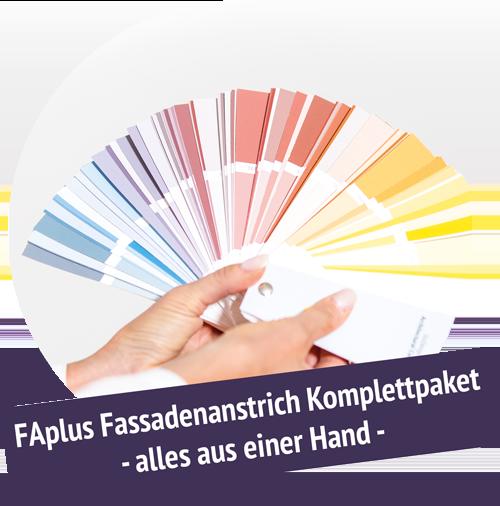 FAplus - Ihr Komplettpaket für den Fassadenanstrich