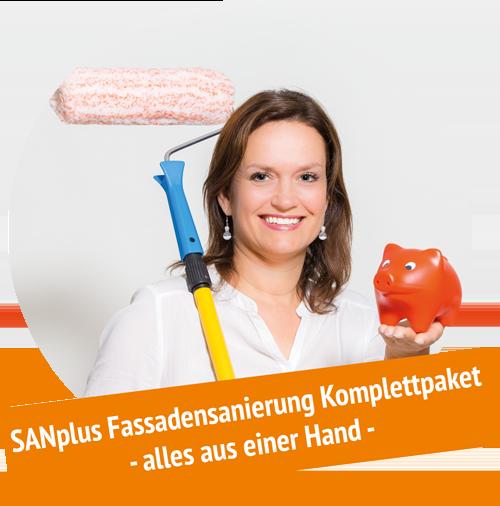 SANplus - Ihr Komplettpaket für die Sanierung Ihrer Fassade